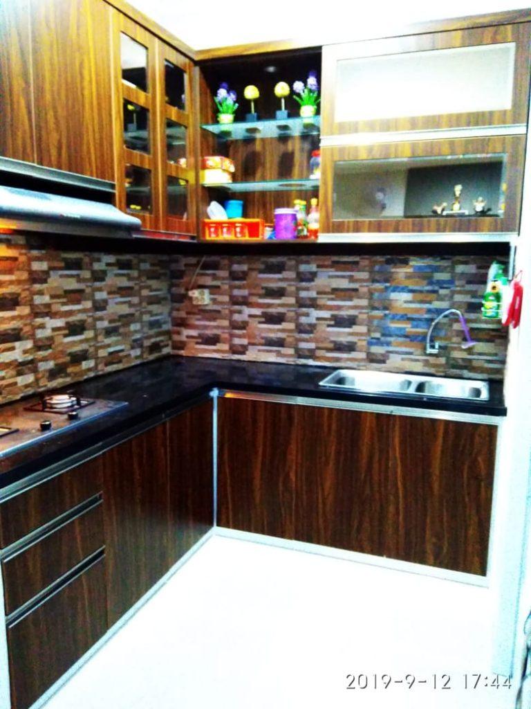 Jasa Kitchen Set Aluminium Spesialis Vendor Aluminium Custom